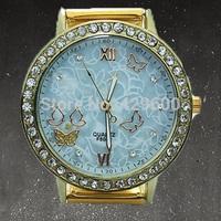 2014 Fashion Quartz Watch Women Stainless Steel Watch Ladies Casual Rhinestone Watch Relogio Feminino Women Dress Watch