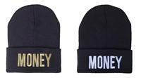 Free Shipping 2014 Money Beanie Black D9005