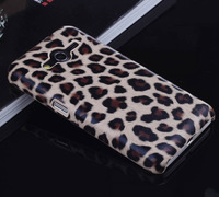 2014 New Galaxy Core 2 Case,Brown Leopard Hard Case Cover for Samsung Galaxy Core 2 G355H Case