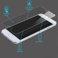 For iphone 6 0.3mm Premium Tempered Glass Screen Protector For iPhone 6 6G Film Without Retail Package Free Shipping