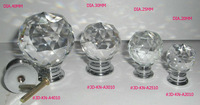 Free Ship Mix 13pcs Crystal Cut Faces Knob In Silver and in Brass for Furniture Drawer Cabinet Cupboard Wardrobe Dresser Door