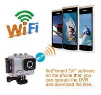 Action Camera Wifi Sport DV Wireless Helmet DVR Camera Camcorder with RF Control