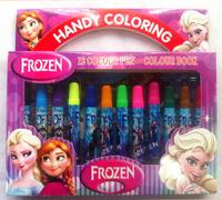 414frozen anna elsa princess style cartoon 12 color Water Color Pen kid drawing stationery scrawl children school  Supplies