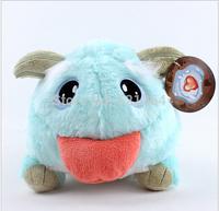 Free shipping 2014 New! LOL High quality lol  Bule Poro 25*20 cm Plush dolls Toy for children Christmas gift