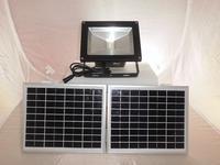 30W PIR Motion Sensor Outdoor LED Spot Lights IP65 Waterproof Flood Lamps Solar Power Wall Lighting Luminaria Solar
