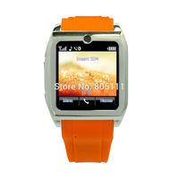 Free Shipping Andorid Smart Phone Watch With FM Radio,MP3,MP4,Earphone,Phone Call,Handsfree,1.3mp Camera