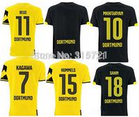 all player Dortmund Reus Schmelzer Hummels Top Thailand Quality football shirt soccer jersey custom name shorts