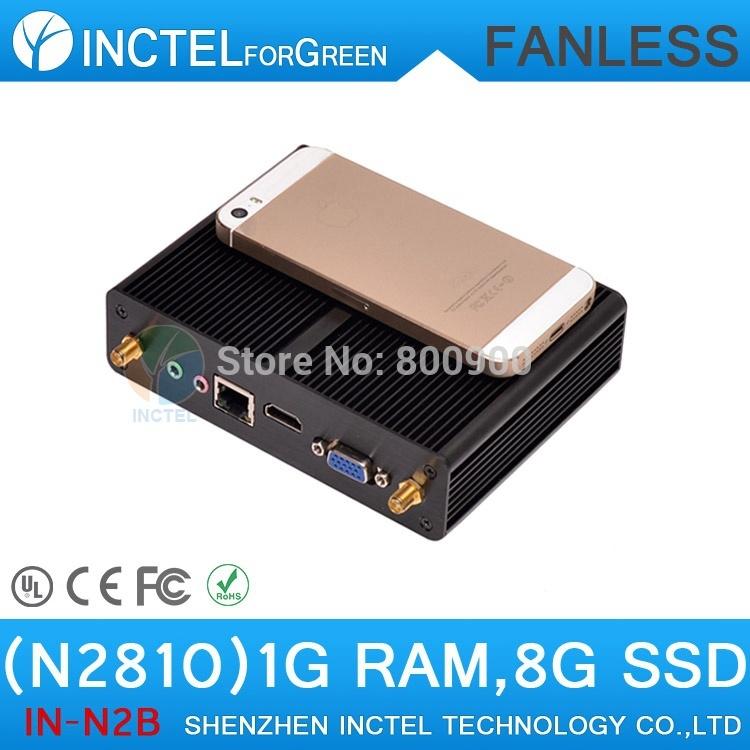 Whole global cheapest Intel Celeron N2810 mini pc with Bay Trail M dual core dual threads 2.0Ghz CPU 1G RAM 8G SSD Windows linux(China (Mainland))