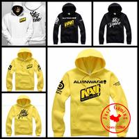 SteelSeries NAVI Natus Vincere Game Team Men hoodies sweat shirt coat men's fleece PRO gamer hoody coat Outerwear yellow white