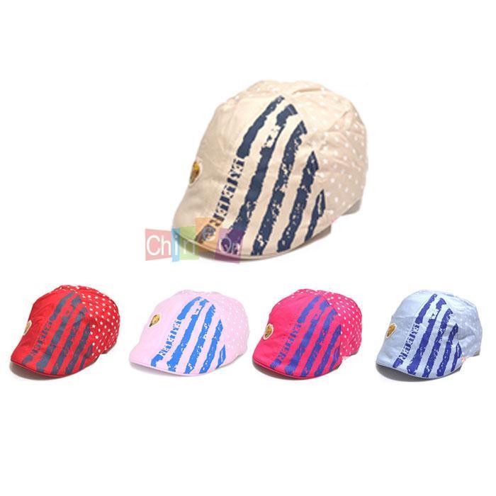 New Baby Girls Boys Kids Unisex Cotton Toddler Hat Cap Fedora Sun Hat Peak Cap Visors(China (Mainland))