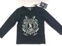 2014  New  Retail  Brand  fashion  spring/autumn  children's  shirt   print  pattern  long  sleeve  O-Neck  boy's  shirt