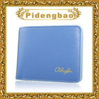Sport designer Fluorescent color couples wallets luxury unisex wallets for couples P862-1