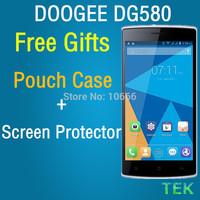 (11.11) Oringinal DOOGEE KISSME DG580 1GB RAM 8GB ROM Smartphone MTK6582 1.3GHZ Android 4.4 Wake Gesture 5.5inch free shipping