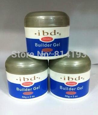 3 color (clear+pink+white) Acrylic Nail Art UV nail Gel saloon profesional nail art JT Builder Gel 2oz / 56g(China (Mainland))
