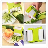 1Pcs Multi-function Green Peeler Kitchen Tool Vegetable Fruit Parer Julienne Cutter Slicer Cooking Easy Tools Gadgets bz871355