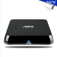 Quad Core XBMC Android TV Box M8 Amlogic S802 2G/8G2.4G/5G Dual WiFi Mali450 GPU 4K HDMI Bluetooth True HD DTS HD EM8
