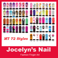 MT Series 20 sheets /lot Water transfer minx nail stickers for decal 72 colors for selection . Item No.140912