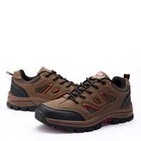 Leather Upper Unisex Fashion Hiking Shoes  EU 36-44 Patchwork Design Top Quality Men / Women Lovers Casual Athletic Shoes