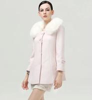 2014 new winter woolen coat ladies short paragraph Slim woolen coat wool coat tide NDX123  Y9W