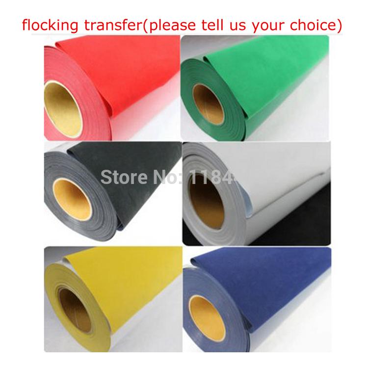 Cutting Plotter DIY T-shirts Flocking Heat Transfer Vinyl Film(China (Mainland))