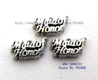 10pcs Mix Min order 10$ as friend families gift for living memory floating locket wholesales Maid of Honor floating charms