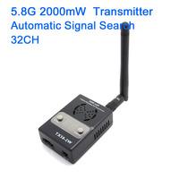 New version Boscam FPV 5.8G 5.8Ghz 2000mW 2W 32 Channels Wireless AV Transmitter Automatic Signal Serch TX58-2W for fpv system