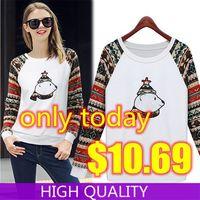 Winter Women Sweatshirts 2015 New Tracksuits Full Sleeve O Neck Suit Cartoon Printed Sweatshirt Women Casual Tracksuit Pullover