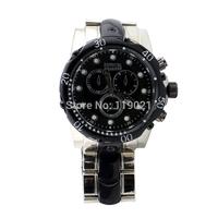 New 2014 INVICTA Watch Top Brand Luxury Men's Full Steel Watch Analog Diaplay Auto Date Luxury Military Watch Men Wristwatches