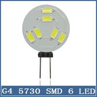1x Mini G4 LED Light 12V 6led 5730 5630 Chandelier Crystal Lamp Home Reading RV Marine Boat Corn Bulb Cabinet Car Interior Lamp