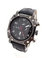 Wholesale Men Wrist Watches V6 fashion leather strap quartz watch sports watches men FS217