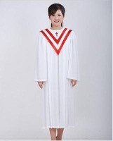 Christmas hymn clothing, Christian clothing cloth Robe St. ephod clothing, choir men and women preach Holy Father fitted clothes