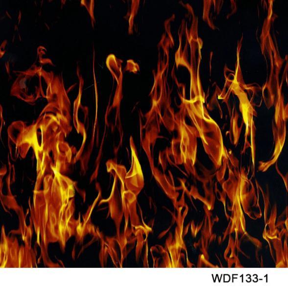 WDF133-1 Decorative Material 10 square Width 1m flame water transfer printing film printer(China (Mainland))
