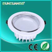 Free shipping(1pcs/lot) 3w led down light Aluminum materail 85-265v 270lm celing light for home recessed led downlight