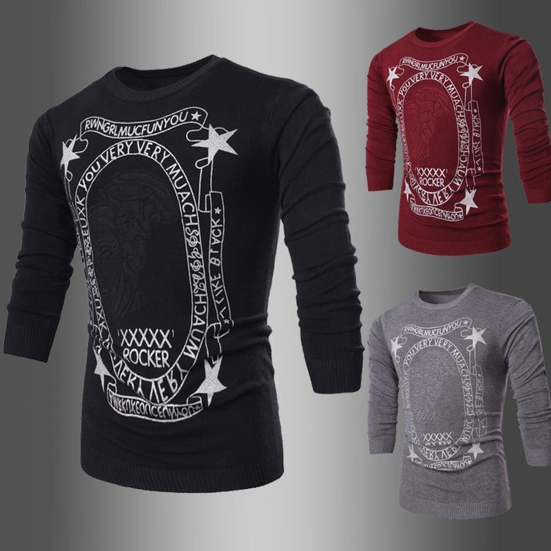 Мужской пуловер Wsgyj 2015 7707