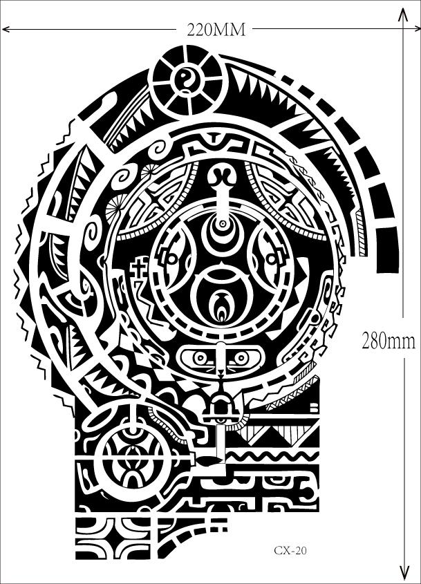 Aliexpress.com: Comprar 1 unids tatuaje del brazo hombro grande ...