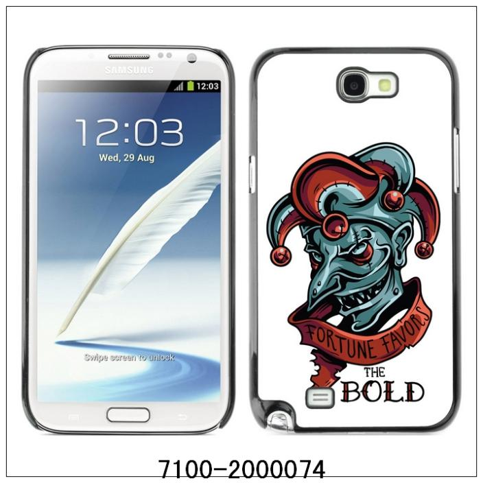 Favors The Bold Evil Joker-FOR SAMSUNG Galaxy Note2/N7100 Plastic Hard Back Case Cover Shell (7100-2000074)(China (Mainland))