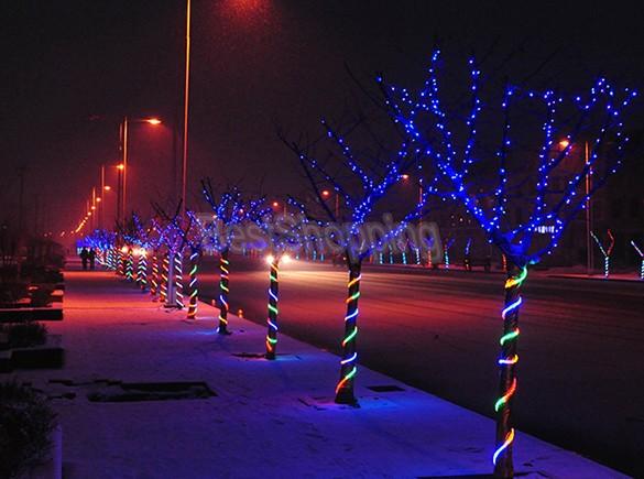 Holiday Outdoor 300 LED String Lights 30M 110V Christmas Xmas Wedding Party Decorations Garland Lamp Bulb Lighting 35(China (Mainland))
