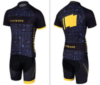 2014 New sportswear Men Cycling jersey Wear mountain bike maillot clothing shirts shorts set