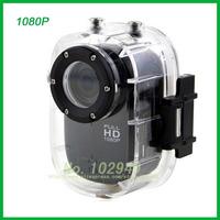 1080P HD Widehead helmet sports camera waterproof DVR bike divingcameras Action Camera Camcorder DVR 2pcs/lot HDL Free shipping