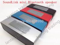 20 pcs 2014 new mini NFC/MIC Speaker & Bluetooth Speaker support TF card super music box sound wireless speake