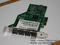 1000Mbps 4 Ports Fiber Optical Lan Card PCI Express Server Network Adapter, SFP Slot
