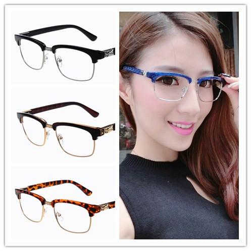 Best No Frame Glasses : Aliexpress.com : Buy Classic popular Resin semi rimless ...