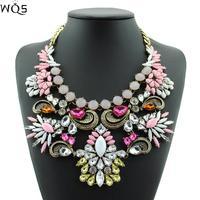 2014 New Fashion Design Choker Statement Necklace Women Vintage Crystal Necklaces & Pendants Vintage Jewelry Necklaces Pendants