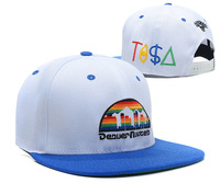 Free shipping 2014 fashion flat brimmed baseball hat adjustable embroidery sport cap
