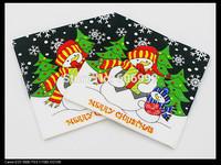 Food-grade Christmas Paper Napkins Snowman Event & Party Tissue Napkin Supply Decoration Paper 33cm*33cm 1pack/lot