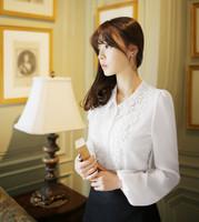 Classical Elegant Women Shirt Lace Blusas Feminina Top Shirt Women Clothing Blusa Camisa Roupas Women Casual Bouses Shirt