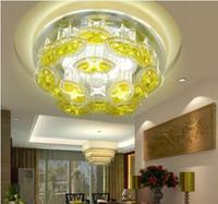 5W modern crystal ceiling light home lighting led spot lamp for living room plafond AC85-265V abajur
