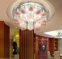 5W LED crystal chandelier lampshade  home lighting AC110V 220V 230V 240V light fixtures luminaire