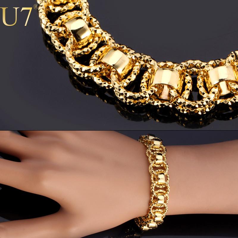 золотые браслеты для