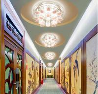 5W modern crystal chandelier led spot lights bedroom light hallway lamps AC85-265V luminarias home decoration